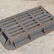 Чугунная решетка сливная для канализации дождеприемник ДМ ДК Дб