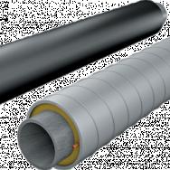 Труба ППУ-ПЭ-сп, диаметр ПЭ оболочки 110мм