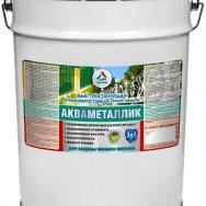 Акваметаллик 3 в 1  антикоррозионная акриловая грунт-эмаль по металлу без запаха