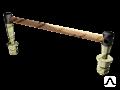 Соединитель рельсовый рельсовый электротяговый для крестовин ЭМС-70-3500
