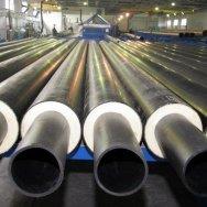 Трубы стальные э/с большого диаметра ГОСТ 20295-85 в изоляции (ВУС, ЦПП)