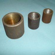 Муфта Двухраструбная стальная нержавеющая полиэтиленовая