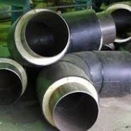 Отвод ППУ-ПЭ-сп, диаметр ПЭ оболочки 110мм