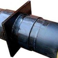 Неподвижная опора (НОП) ППУ-ПЭ-сп, диаметр ПЭ оболочки 110мм