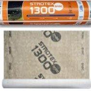Супердиффузионная мембрана Strotex 1300 V, (рулон -75 м2)