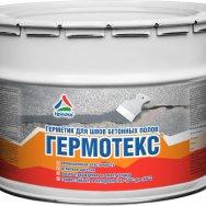 Гермотекс - двухкомпонентный герметик для деформационных швов бетона