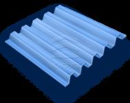 Профнастил окрашенный с полимерным покрытием Н114-750