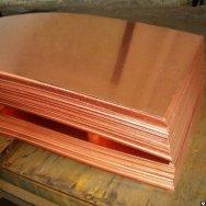 Лист медный 0,5*600*1500 мм М1 М1Т М1М медные листы в ассортименте+доставка