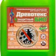 Древотекс БИО  защитно-консервирующий трудновымываемый антисептик для дерева