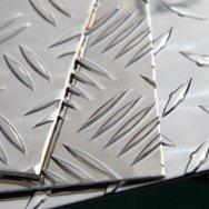 Лист алюминиевый рифленый квинтет АМг2Н2Р