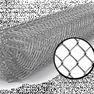 Сетка рабица оцинкованная (рулон)