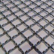 Сетка рифленая ячейка 3х3 ГОСТ 3306-88 для грохотов
