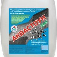 Аквастоун SMT  грунт-пропитка для упрочнения бетонных полов (без запаха)