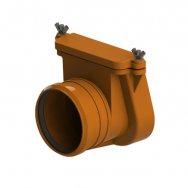 Затвор канализационный Ду110 2камер с фиксатором,2люк 710.2 HL