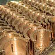Отливки втулки бронзовые, фасонное литье БрОЦС БрОС БрОФ БрАЖ БрАЖМц БрАМц