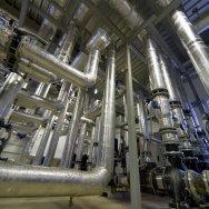 Опора металлическая трубопровода для тепловых сетей и ТЭЦ