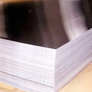 Лист нержавеющий шлифованный в пленке AISI 304, AISI 430 (08Х18Н10, 12Х17)