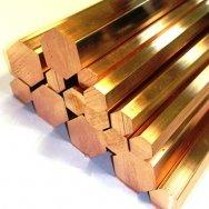 Шестигранник бронзовый БрАЖ9-4