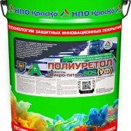 Полиуретол 80S (УФ)  сверхпрочная грунт-эмаль с эффектом микро-титан для долговечной защиты металла