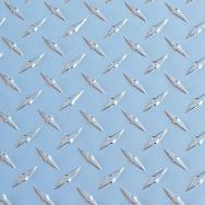 Лист алюминиевый рифленый (Диамант) ТУ 1-801-20-2008