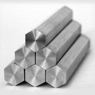 Шестигранник, конструкционная сталь, Ст 09Г2С, ГОСТ 19281,2879, н/д, 4м