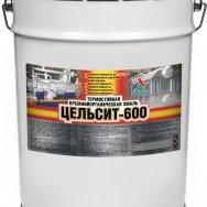 Цельсит-600 - эмаль термостойкая кремнийорганическая матовая