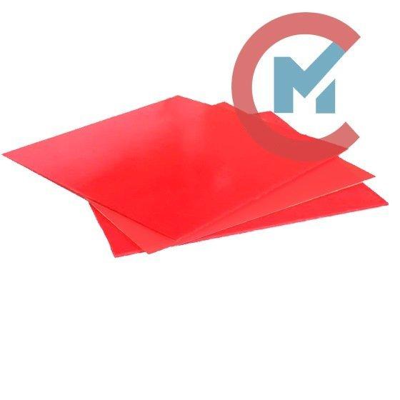 Пластину из полиуретана красную ТУ 2292-003-45130869-2004