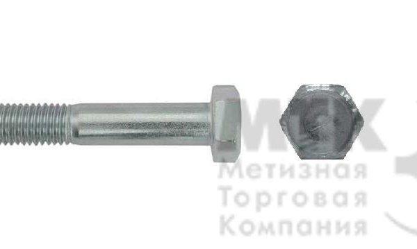 Болты с шестигранной головкой, горячий цинк 5.8 (РМЗ), ГОСТ 7798-70
