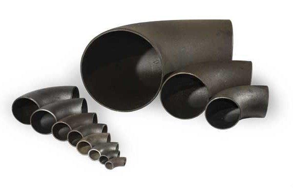 Отвод стальной 30, 45, 60, 90 градусов ГОСТ 17375-2001 Ст3-20 09г2с