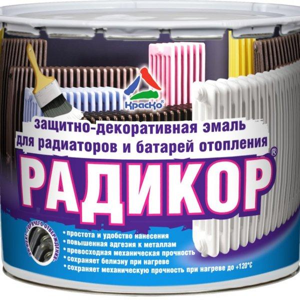 """Радикор - эмаль для радиаторов с эффектом """"горячего отверждения"""""""