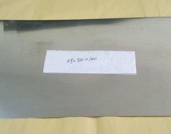 Лист молибденовый МоЛа ТУ 48-19-273-91