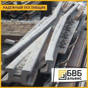 Стрелочный перевод Р-50 1/9 проект 2498