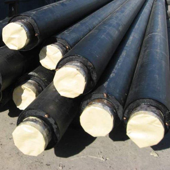 Труба стальная полиэтиленовая теплоизолированная в ППУ, ППС, ППМ