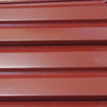 Металлосайдинг оцинкованный и с полимерным покрытием, крашенный