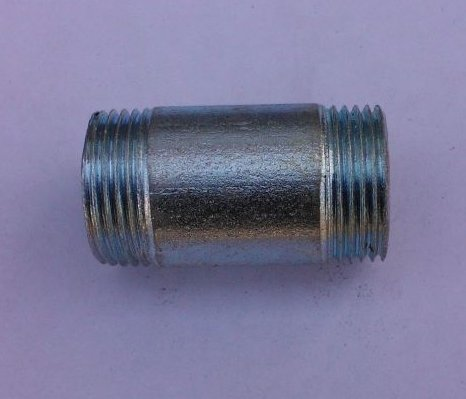 Бочонок Ду20 L=55мм КАЗ из труб по ГОСТ 3262-75