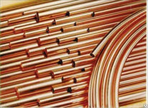 Труба медная в бухтах и по 3000мм ASTM В280/EN12735