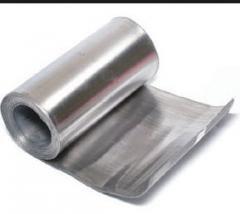 Фольга свинцовая, плакированная оловом, ГОСТ 18394-73