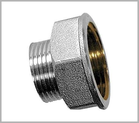Переход резьбовой РУ2.5 - 260МПа чугунный, нержавеющий, оцинкованные, полиэтиленовый, сталь