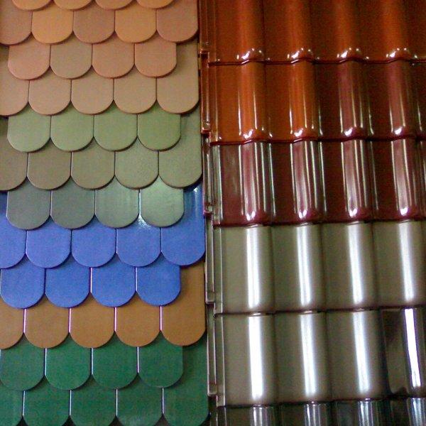 Металлочерепица Монтеррей Макси Супермонтеррей Люкс Стандарт любой цвет пластизол полиэстер
