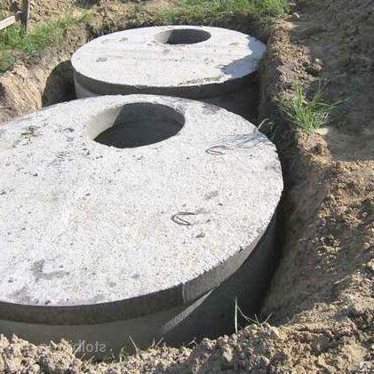 Септик для канализации стальной железобетонная и полиэтиленовый
