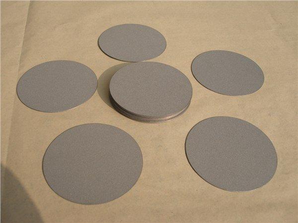 Пластины пористые титановые ТПП-3-МП ТУ 14-1-1895-76
