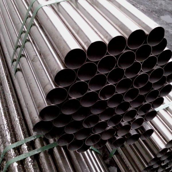 Труба нержавеющая профильная сталь 12Х18Н10Т AISI 304 прямоугольная
