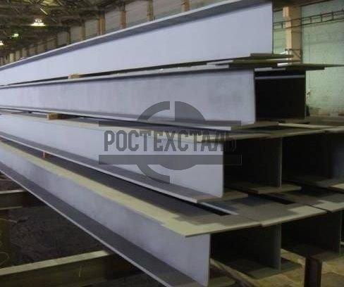 Балка металлическая сталь 09Г2С 345 СТО АСЧМ 20-93