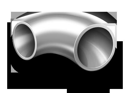 Отвод крутоизогнутый 102x6 исп. 2 оцинкованный ст20