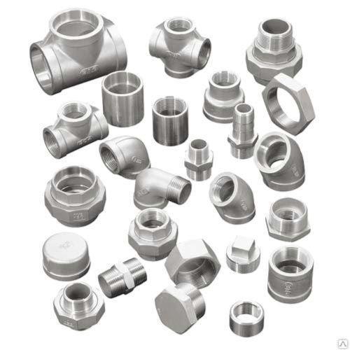 Пресс-фитинги стальные нержавеющие полиэтиленовые латунные