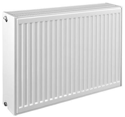 Радиатор стальной панельный VC ниж/п в/к с кроншт встр вентилем Heaton