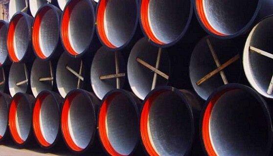 Труба из высокопрочного чугуна с шаровидным графитом (ВЧШГ)