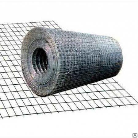 Сетка сварная 2000 х 6000 мм D = 4 мм ячейка 200 х 200 мм ГОСТ 23279-21012