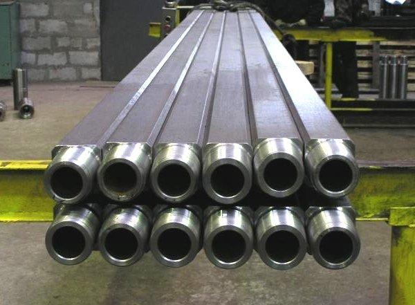 Труба бурильная с приваренными замками ЗП-121 ГОСТ Р 50278-92 группа прочности М