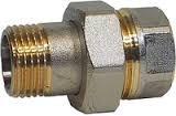 Соединение резьбовое Gas (американка) G 1/4'' AISI 304 вр/вр
